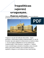 Afropoliticas - Mujeres -  Uruguayas. - 2.doc