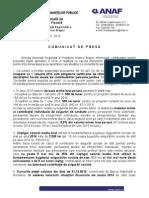 Comunicat Prevederi Fiscale 2014