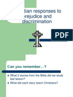 6  christian responses to prejudice and discrimination pp