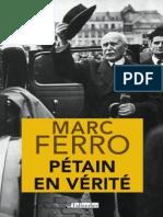 Pétain en vérité - Marc Ferro.pdf