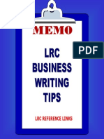 Business Writing 1