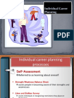 Individual Career Planning