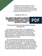 JFL Press Release October 23 2014 --12