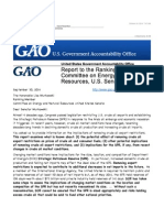 Ground Zero - Lifting the Ban on Oil Exports - GAO Recommends