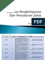 Laporan UPZ Bulan September 2014