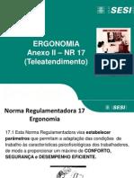 Palestras  Anexo II NR 17- Teleatendimento  para o Instrutor.ppt