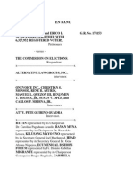 Lambino v. COMELEC; Justice Antonio T. Carpio