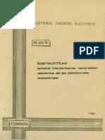 Prescriptie Energetica PE 025-81