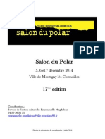 Salon du Polar Montigny-les-Cormeillles 2014
