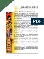 Contoh Proposal Festival Barongsai Palembang
