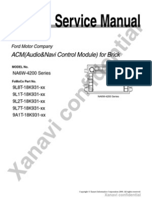 Service Manual | Electrical Connector | Radio