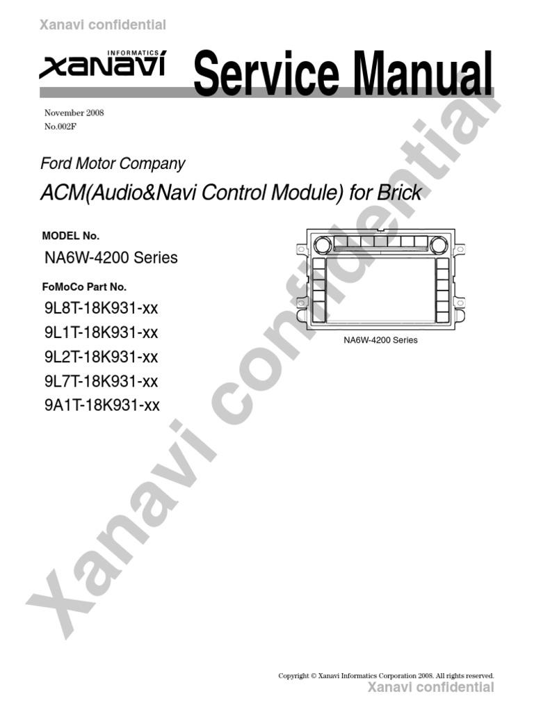 service manual electrical connector radio rh es scribd com
