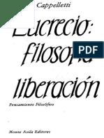 Ángel Cappelletti, Lucrecio. La filosofía como liberación.pdf