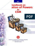 Powers in CSIR May2011