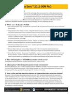 Sym Backupexec 2012 FAQ-rev4