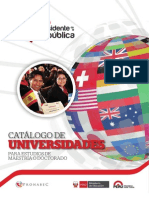 catalogo universidades - Becas presidente