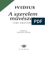 Ovidius - A szerelem művészete.pdf