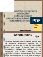analisis sobre la ley sobre el hurto y robo de vehiculos automotores venezuela.ppt