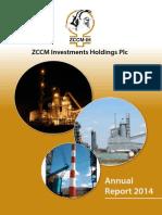 ZCCM-IH 2014 Annual Report