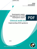 Neutropenic Sepsis Audit Tools