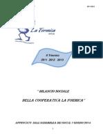 Bilancio Formica (Anni 2011-2013)