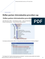 Define partner determination procedure sap – SAP Training Tutorials.pdf
