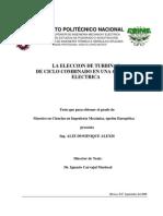 La eleccion de turbinas de ciclo combinado en una central electrica.pdf