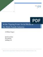 Social Media Whitepaper Multifamily