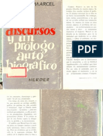 Marcel, Gabriel - Dos discursos y un prólogo autobiográfico.pdf