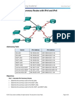 6.4.2.5 Lab - Calculating Summary Routes with IPv4 and IPv6.docx