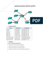 6.4.2.5 Lab - Calculating Summary Routes with IPv4 and IPv6.rtf