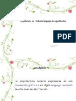 03 - Arquitectura de Software - Lenguajes ADL.pptx