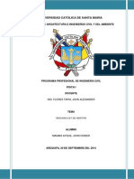 Informe 10 - 2DA LEY DE NEWTON -  Practica de Fisica.docx