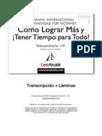 COMO LOGRAR MÁS Y TENER TIEMPO PARA TODO, Leo Alcalá.pdf