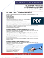 Helicopter Purchase Information Overview