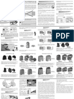 Manual Automatizador Deslizante Dz Rio Turbo 1/4 PPA Netalarmes