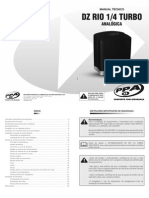 Manual Tecnico DZ Rio 1/4 Turbo Analogica PPA Netalarmes
