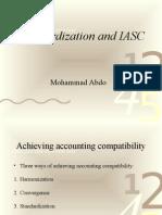 Iasc and Standardization