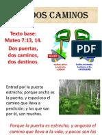 261LOS DOS CAMINOS.ppt