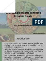 Agroecología Test