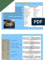Modélisme ferroviaire à l'échelle HO. fiche compos de rames. Rame Turbine à Gaz. 12 09. Par Laurent Arqué