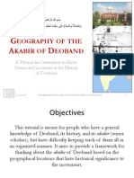 Geography of the Akabir of Deoband - V1 - 8.23.13