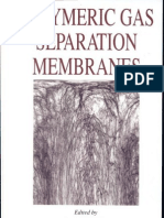 Polymeric Gas Separation Membranes by Donald R. Paul and Yuri P. Yampol'Skii