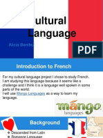 cultural language- french
