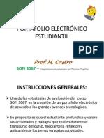 Instrucciones Portafolio Electrónico