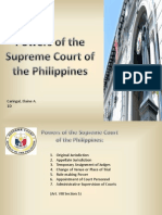 Powers of the Supreme Court presentation