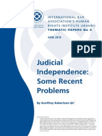 IBA Judicial Independence (June 2014)