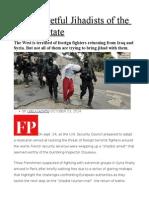 The Regretful Jihadists of the Islamic State