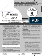 prova enem PPL 2013 2° dia.pdf