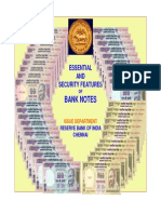 RBI Salient Features of Genuine Note